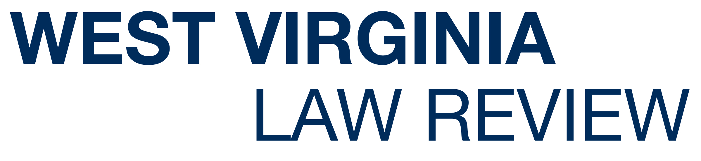 West Virginia Law Review