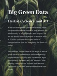 00. Big Green Data: Herbals, Science, and Art