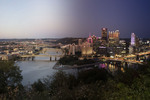 Pittsburgh, PA (from the Timescapes series) by Brittany Pennell