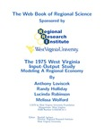 The 1975 West Virginia Input-Output Study: Modeling A Regional Economy