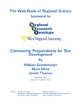 Community Preparedness for Site Development